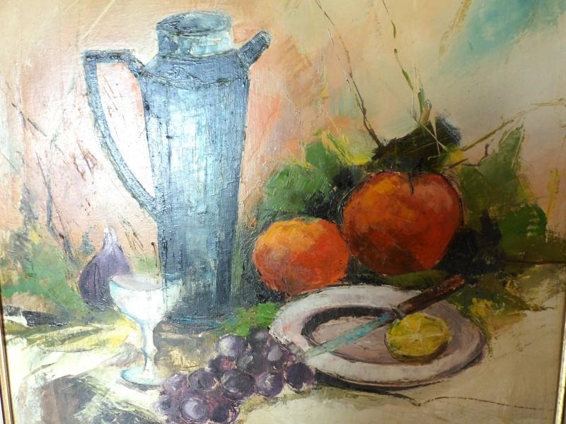Schilderij stilleven (Capri)