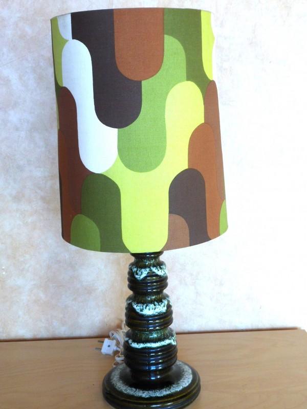 Vintage keramische lamp