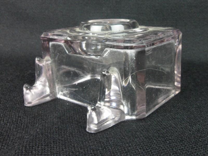 Vintage glazen inktput