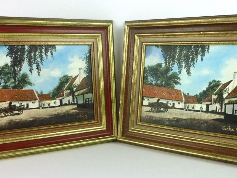 2 Schilderijen (Hoeve)