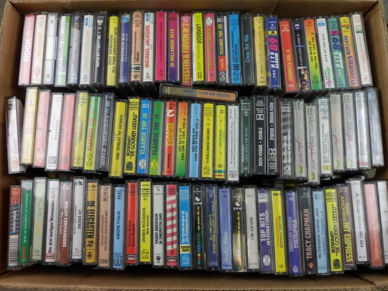 Lot: Muziekcassetjes