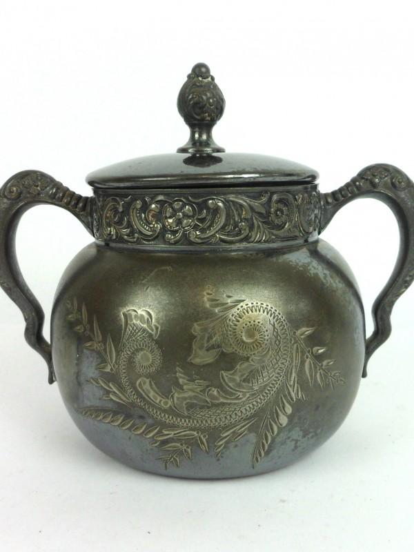 Vintage zilveren potje (St.-Louis Silver)