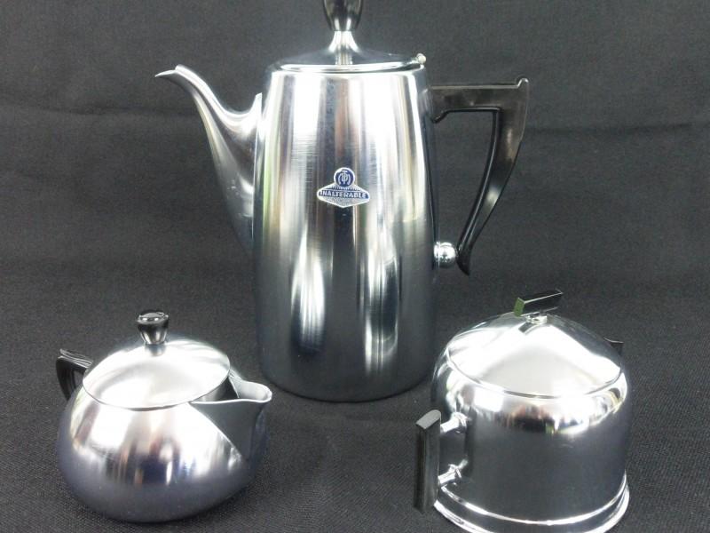 Vintage koffie-set (Demeyere)
