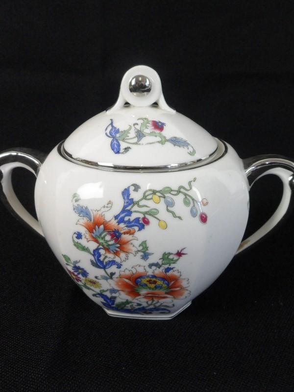 Vintage porseleinen suikerpot (RENASTRID)