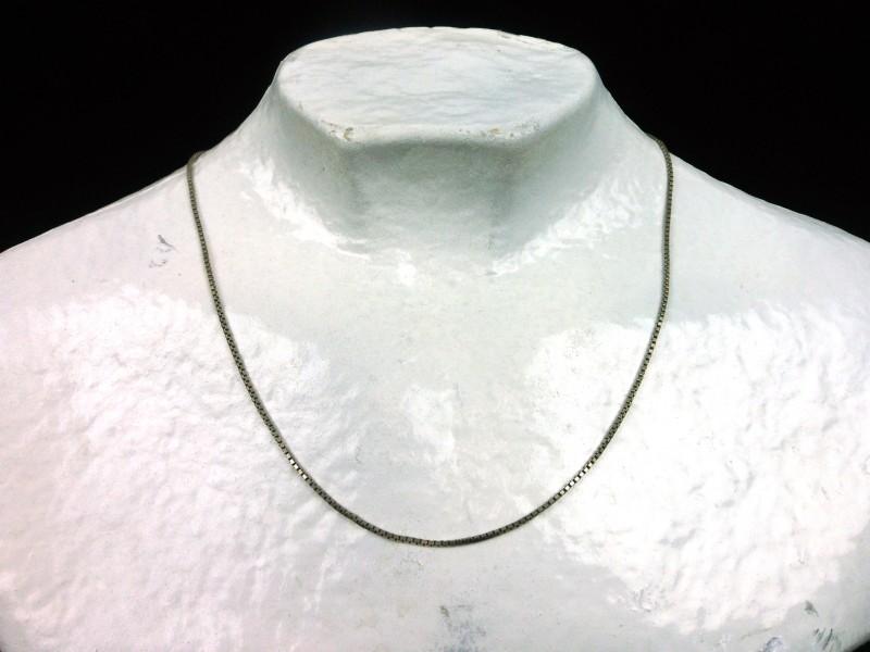 Zilveren halssnoer
