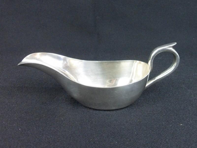 Zilveren sauskom