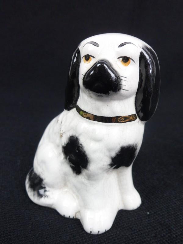 2 Aardewerk Cavalier King Charles hondjes