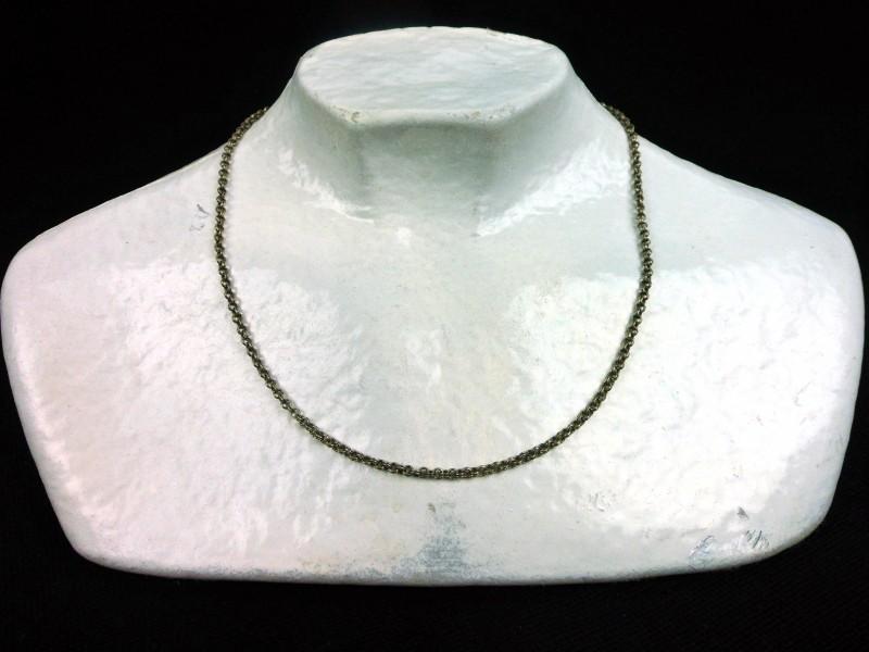 Zilveren halssnoer (B)