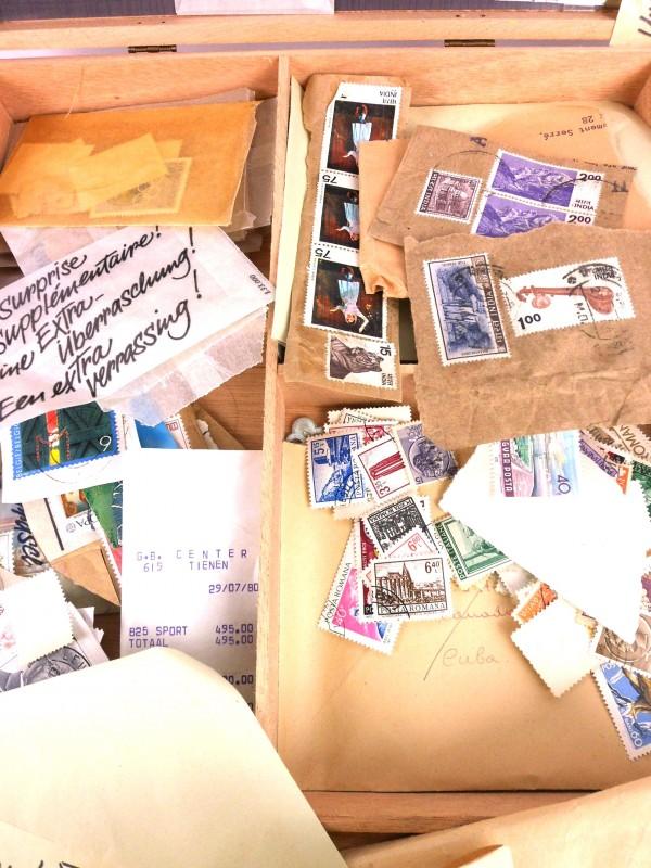 Lot: postzegels