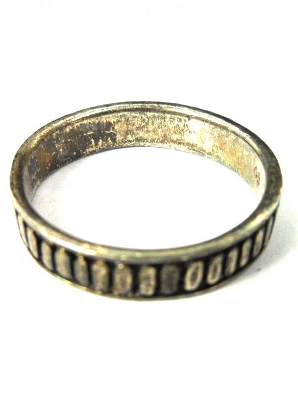 Zilveren ring (A)