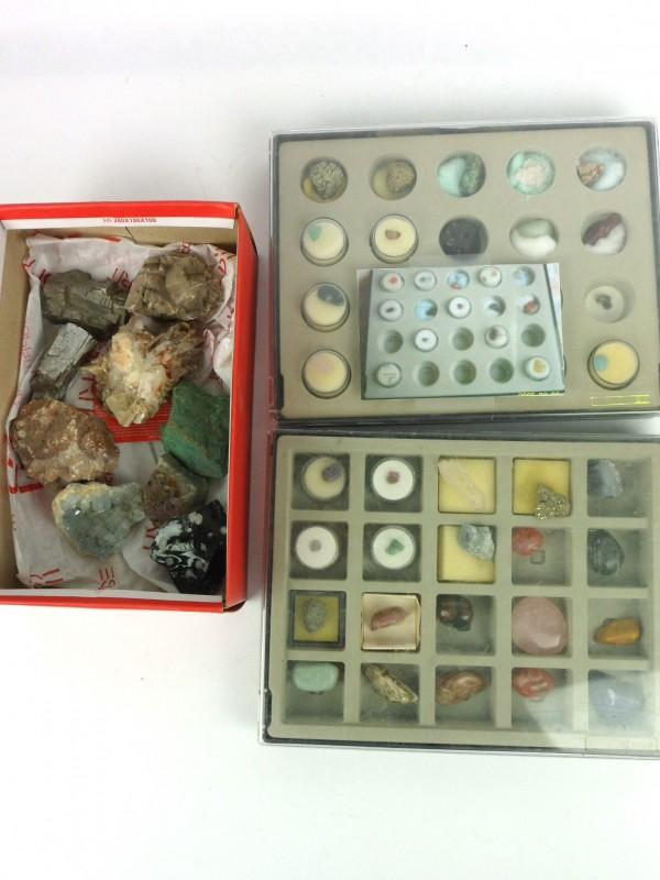 Verzameling natuur- & mineraalstenen