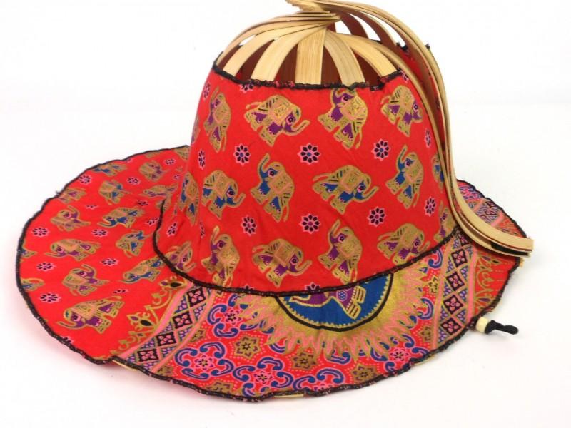 Aziatische plooibare hoed