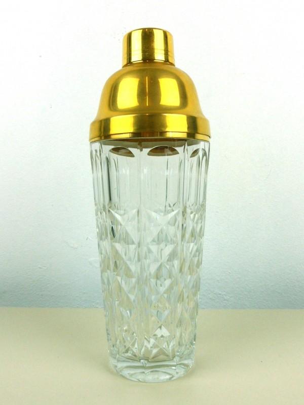 Kristallen shaker (Val St.- Lambert)