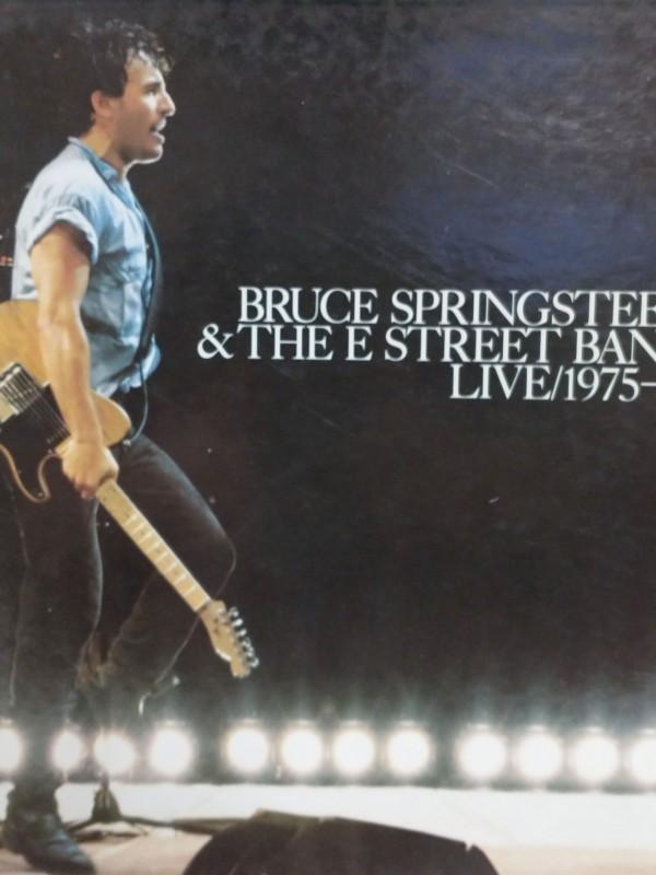 "5 LP box van ""Bruce Springsteen"" live 1975/1985"