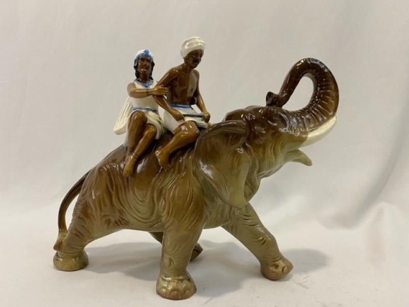 Porseleinen olifant, jaren 50