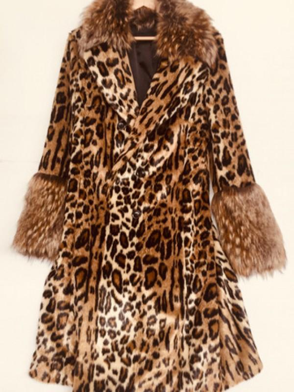 Marc Cain Faux Fur Coat