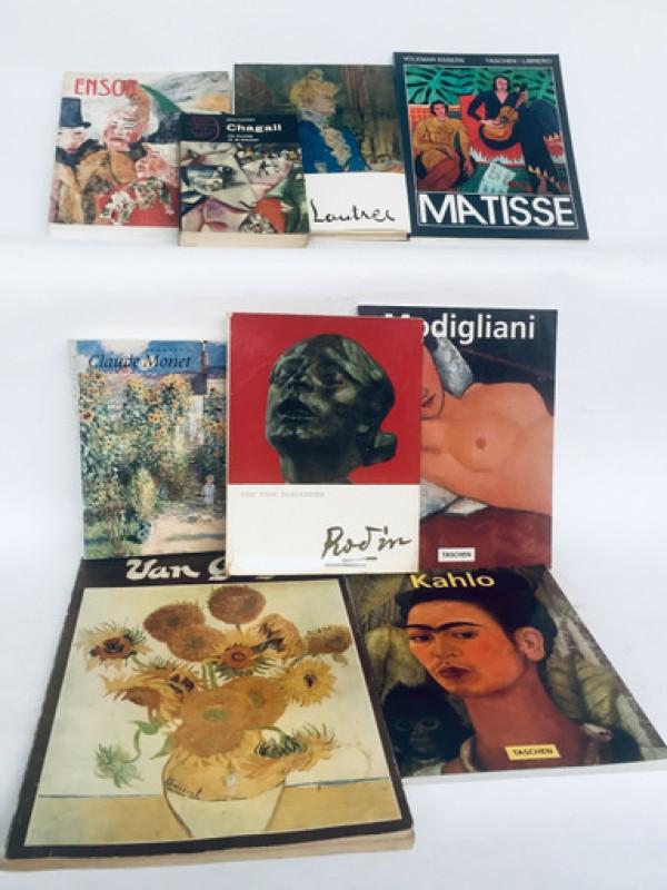 8 Kunstenaars / 8 Boeken